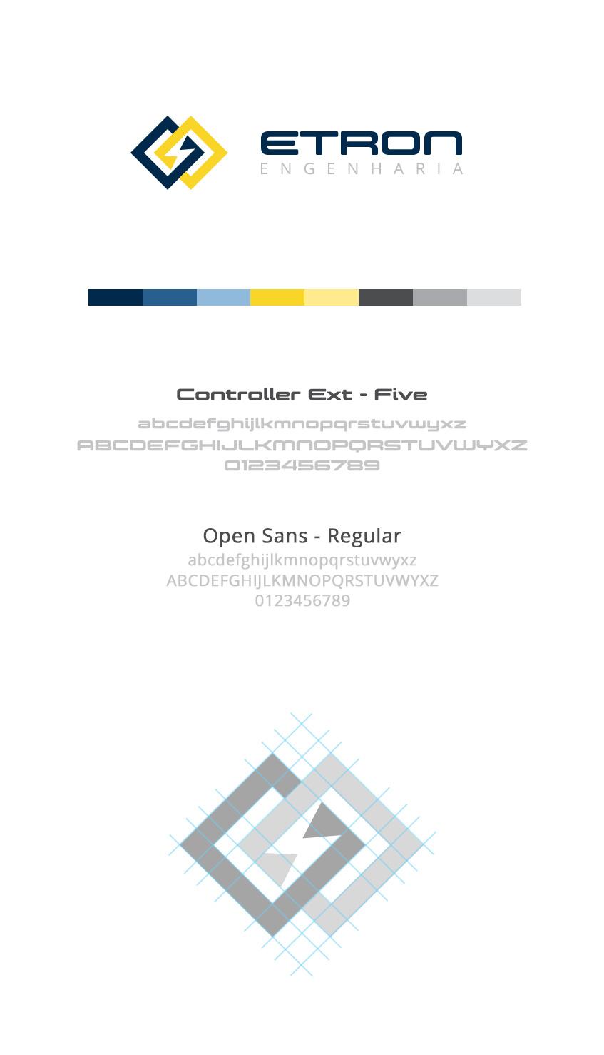 Criação de Logotipo - Etron Engenharia - BuenoSites