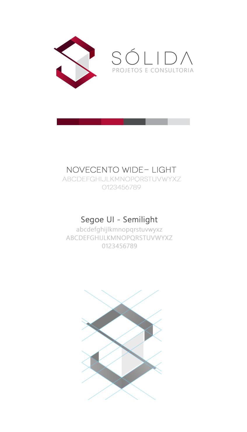 Criação de Logotipo Sólida Engenharia - BuenoSites