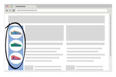 Lateral do site - posição dos anúncios no Google Adwords - Buenosites