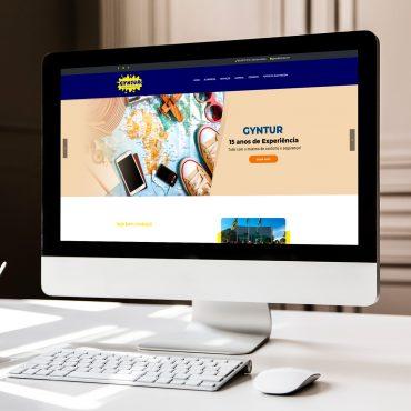 gyntur - criação de sites - Goiânia - Buenosites