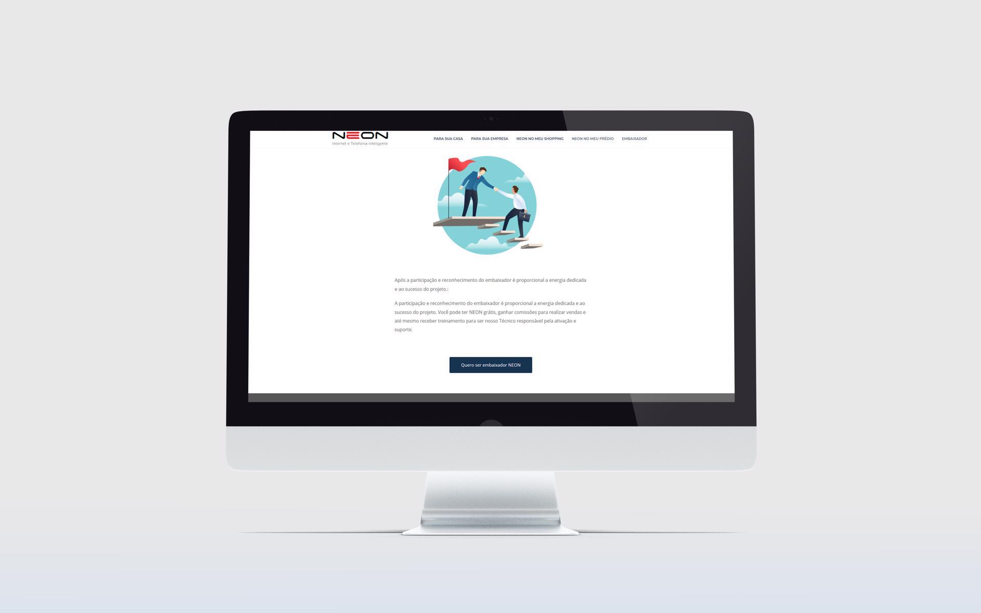 Criação de Sites - NEON Internet - Buenosites - Criação de Sites e Logotipos