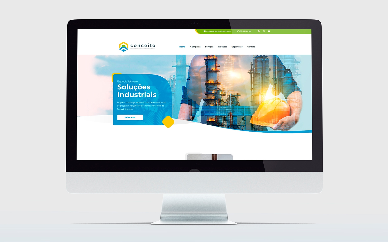 criação de Site WordPress - Conceito - Buenosites - Criação de sites e Logotipos