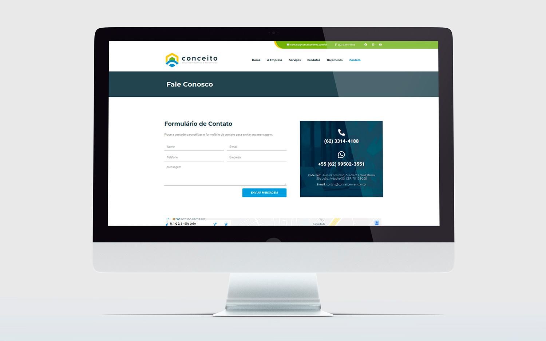criação de Site - Conceito - Buenosites - Criação de sites e Logotipos