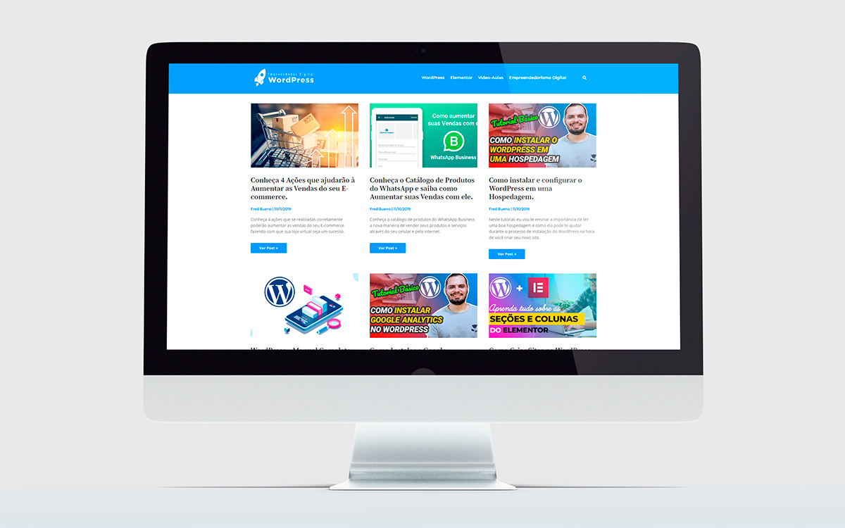 crição de sites wordpress - portfólio - empreendedor digital wordpress - Buenosites